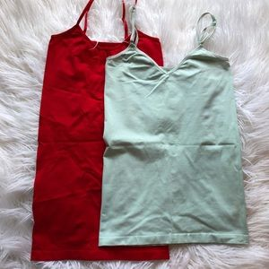 Two Spandex Tank Tops for the price of ONE
